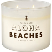 Bath & Body Works Island Style: 3 Wick Candle, Mahogany Coconut