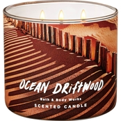 Bath & Body Works Adventure Awaits 3 Wick Candle, Ocean Driftwood
