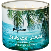 Bath & Body Works Adventure Awaits 3 Wick Candle, Seaside Daze