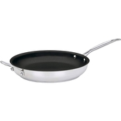Cuisinart Chef's Classic Stainless Steel Non-Stick 12 in. Skillet