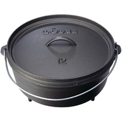 Lodge 6 qt. Cast Iron Camp Dutch Oven