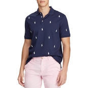 Polo Ralph Lauren Classic Fit Allover Pony Polo Shirt