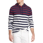 Polo Ralph Lauren Striped Cotton Hooded Tee