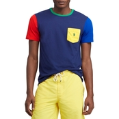Polo Ralph Lauren Classic Fit Color Blocked Tee