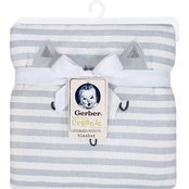 Gerber Fox Face Organic Cotton Blanket