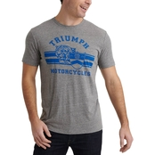 Lucky Brand Triumph Cycle Tiger Tee