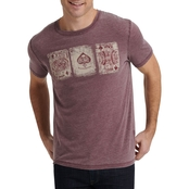 Lucky Brand Poker Cards Tee