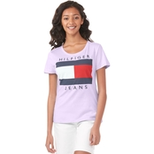 Tommy Hilfiger Embroidered Printed Logo Tee