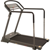 Sunny Health & Fitness Walking Treadmill with Handrail