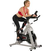 Sunny Health and Fitness Flywheel Belt Drive Commercial Indoor Cycling Bike 44 lb