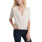 Lucky Brand Wrap Top