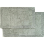 Chesapeake Bella Napoli 2 Pc. Linen Bath Rug Set
