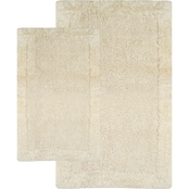 Chesapeake Bella Napoli 2 Pc. Linen Bath Rug Set 40110 (21