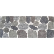 Chesapeake Merchandising Pebbles Bath Rug Runner 24 in. x 60 in.