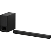Sony 2.1 Channel Soundbar with Wireless Subwoofer and Bluetooth