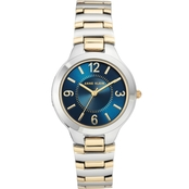 Anne Klein Women's Two-Tone Bracelet Watch AK/1451NVTT