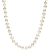 14K Yellow Gold 16 in. 5-5.5mm Cultured Freshwater Pearl Necklace