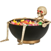 Gemmy Animated Skeleton Candy Bowl