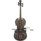 Gemmy Animated Haunted Skull Violin with Sound