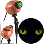 Gemmy Halloween Lightshow EyeScreams Blinking Cat Eyes Projection