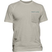 Salt Life Fish for Life Pocket Tee