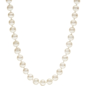 14K Yellow Gold 18 in. 6-6.5mm Cultured Freshwater Pearl Necklace