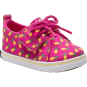 Sperry Infant Girls Crest Vibe Jr. Crib Shoes