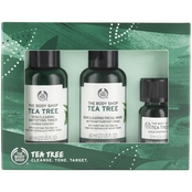 The Body Shop Tea Tree Oil 1, 2, 3 Kit 3 pc. Gift Set