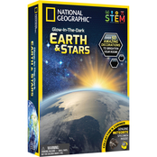 National Geographic Glow in the Dark 3D Earth and Stars