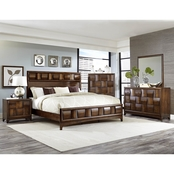 Homelegance Porter Queen Bed 5 pc. Set with Chest