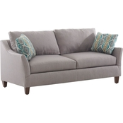 Klaussner Jericho Sofa in Lily Pewter