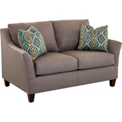 Jericho Loveseat in Lily Pewter