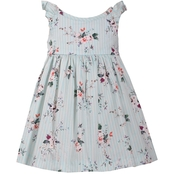 Bonnie Jean Toddler Girls Wallpaper Stripe Dress