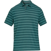 Under Armour Charged Cotton Scramble Stripe Golf Shirt