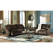 Signature Design by Ashley Clonmel Collection Reclining Sofa and Loveseat Set