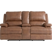 Parker Motion Loveseat w/Power & Console