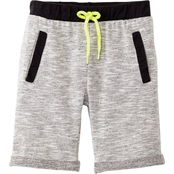 Gumballs Toddler Boys French Terry Textured Shorts