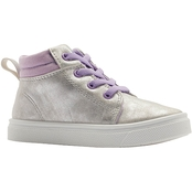 Oomphies Girls Sam High Top Sneakers