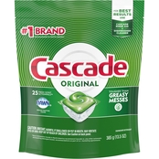 Cascade Original Fresh Scent ActionPacs 25 ct.