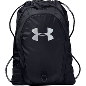 Under Armour Undeniable Sackpack 2.0, Black and Silver