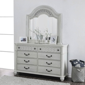 Furniture of America Fantasia 8 Drawer Dresser and Mirror