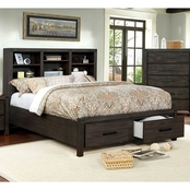Furniture of America Strasburg Rustic Bed
