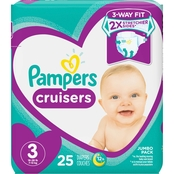 Pampers Cruisers Diapers Size 3 (16-28 lb.)