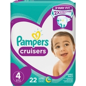 Pampers Cruisers Jumbo Pk Sz 4