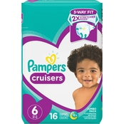 Pampers Cruisers Diapers Size 6 (35+ lb.)