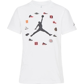 Jordan Little Boys Pinned Up Tee