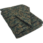 Dark New Camo Fleece Blanket