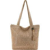 The Sak Riviera Tote Bamboo w/Gold