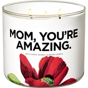 Bath & Body Works In Bloom Messaging: 3 Wick Candle Watermelon Lemonade