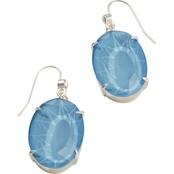 Spartina 449 Mermaid Glass Oval Earrings